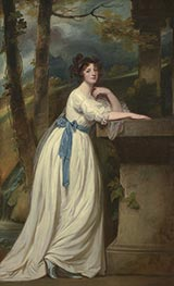 Portrait of Mrs. Andrew Reid, c.1780/88 by George Romney | Painting Reproduction