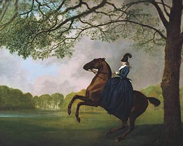 Laetitia, Lady Lade | George Stubbs | Painting Reproduction