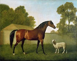 'Dungannon', the property of Colonel O'Kelly, 1793 by George Stubbs | Painting Reproduction