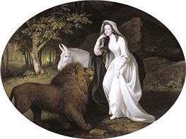 Isabella Salstonstall as Spenser's 'Faerie Queene', 1782 by George Stubbs | Painting Reproduction