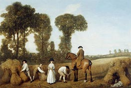 The Reapers, 1783 von George Stubbs | Gemälde-Reproduktion