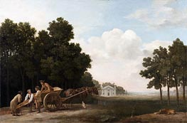 The Labourers, 1779 by George Stubbs | Painting Reproduction