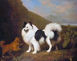 Fino and Tiny | George Stubbs | Painting Reproduction