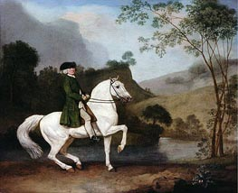 Sir Sidney Meadows, 1778 by George Stubbs | Painting Reproduction