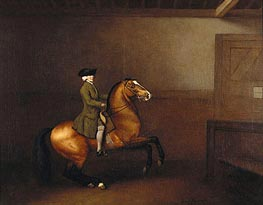Portrait of a Gentleman, 1791 by George Stubbs | Painting Reproduction