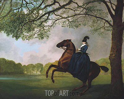 Laetitia, Lady Lade, 1793 | George Stubbs | Painting Reproduction