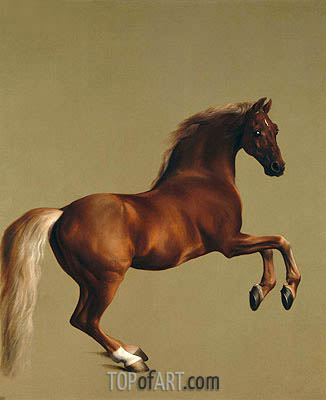 Whistlejacket, 1762 | George Stubbs | Painting Reproduction