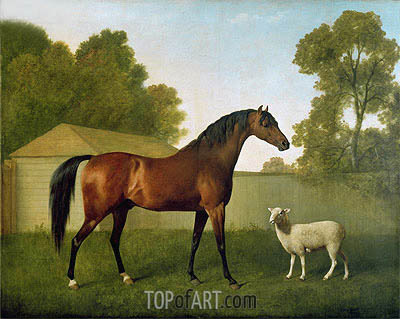 'Dungannon', the property of Colonel O'Kelly, 1793 | George Stubbs | Gemälde Reproduktion
