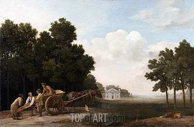 The Labourers, 1779 | George Stubbs | Painting Reproduction