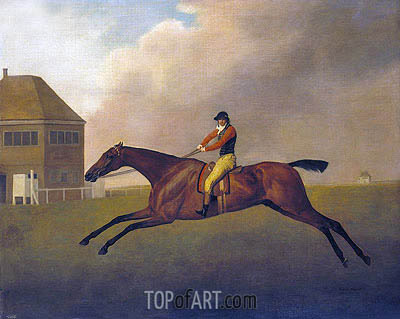 Baronet with Samuel Chifney up, 1791 | George Stubbs | Painting Reproduction