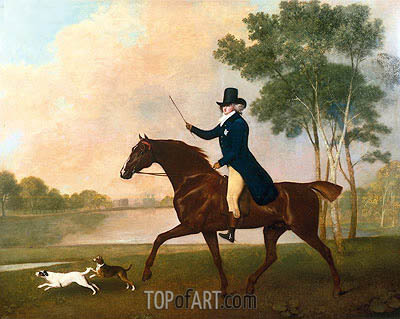 George IV when Prince of Wales, 1791 | George Stubbs | Painting Reproduction
