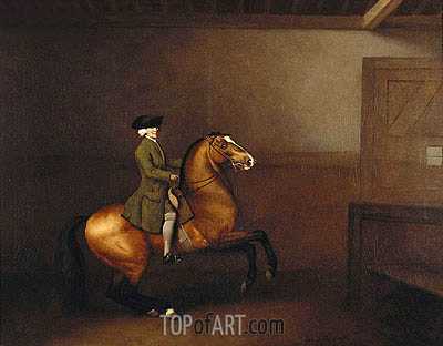 Portrait of a Gentleman, 1791 | George Stubbs | Painting Reproduction