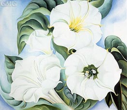 Jimson Weed, 1936 by O'Keeffe | Painting Reproduction