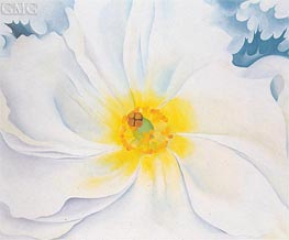 White Flower, 1929 by O'Keeffe | Painting Reproduction