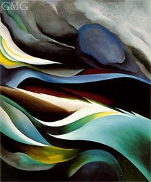 From the Lake I, 1924 by O'Keeffe | Painting Reproduction