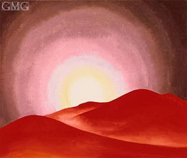 Red Hills, Lake George | O'Keeffe | Painting Reproduction