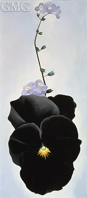 Pansy, 1926 | O'Keeffe | Painting Reproduction
