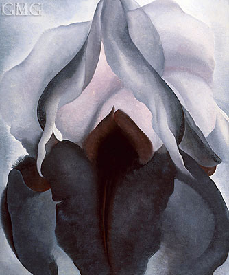 Black Iris III, 1926 | O'Keeffe | Painting Reproduction