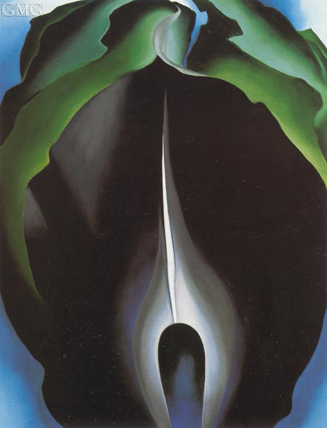 Jack in the Pulpit IV, 1930 | O'Keeffe | Painting Reproduction
