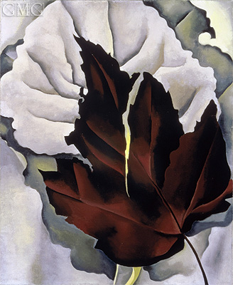 Pattern of Leaves, c.1923 | O'Keeffe | Gemälde Reproduktion
