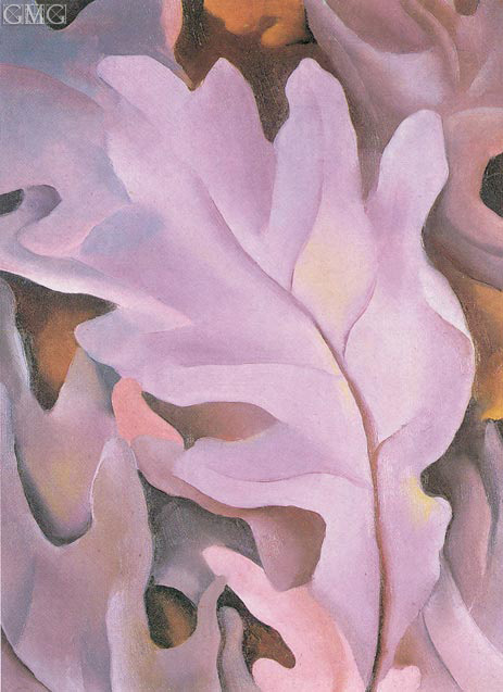 Purple Leaves, 1922 | O'Keeffe | Painting Reproduction