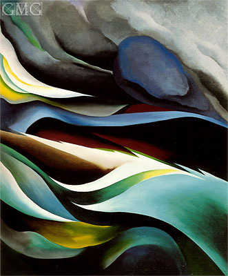 From the Lake I, 1924 | O'Keeffe | Painting Reproduction