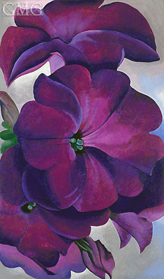 Petunias, 1925   O'Keeffe   Painting Reproduction
