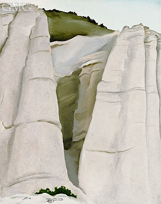 From the White Place, 1940   O'Keeffe   Painting Reproduction