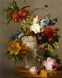 An Arrangement with Flowers, Undated by Georgius van Os | Painting Reproduction