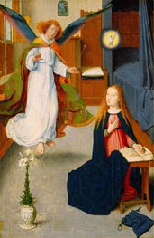 The Annunciation | Gerard David | Gemälde Reproduktion
