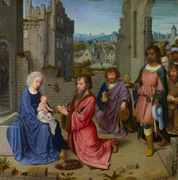 Adoration of the Kings | Gerard David | Gemälde Reproduktion