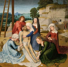 Lamentation (Deposition) | Gerard David | Painting Reproduction