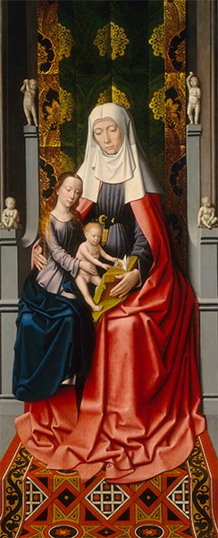Saint Anne with the Virgin and Child, c.1500/20 | Gerard David | Painting Reproduction