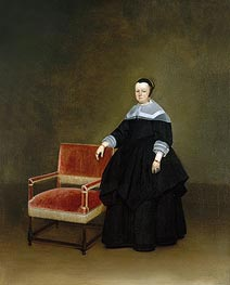 Margaretha van Haexbergen | Gerard ter Borch | Painting Reproduction
