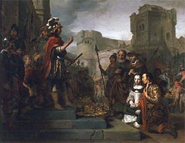 The Continence of Scipio, 1659 by Gerbrand van den Eeckhout | Painting Reproduction