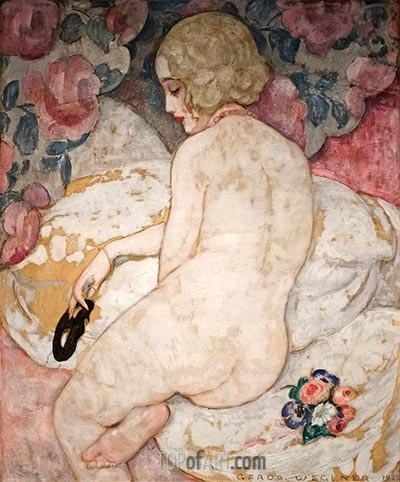 The Mask, 1922 | Gerda Wegener | Painting Reproduction