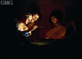 Concert | Gerrit van Honthorst | Painting Reproduction