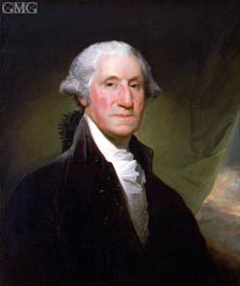 George Washington, 1795 by Gilbert Stuart | Painting Reproduction