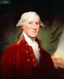 George Washington, 1796 by Gilbert Stuart | Painting Reproduction