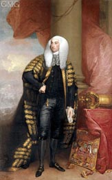 Baron Fitzgibbon, 1789 by Gilbert Stuart | Painting Reproduction