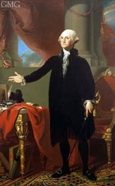 Portrait of George Washington, 1796 by Gilbert Stuart | Painting Reproduction