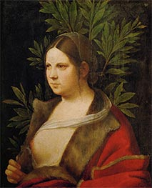 Laura, 1506 by Giorgione | Painting Reproduction