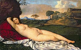 The Sleeping Venus | Giorgione | Painting Reproduction