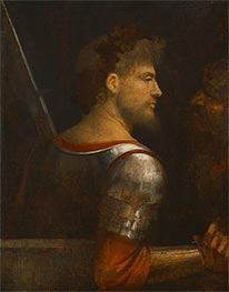 Portrait of a Warrior, c.1505/10 by Giorgione | Painting Reproduction