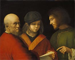 The Three Ages of Man, c.1500/10 by Giorgione | Painting Reproduction