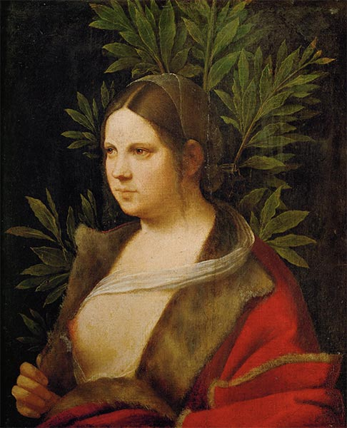 Laura, 1506 | Giorgione | Painting Reproduction