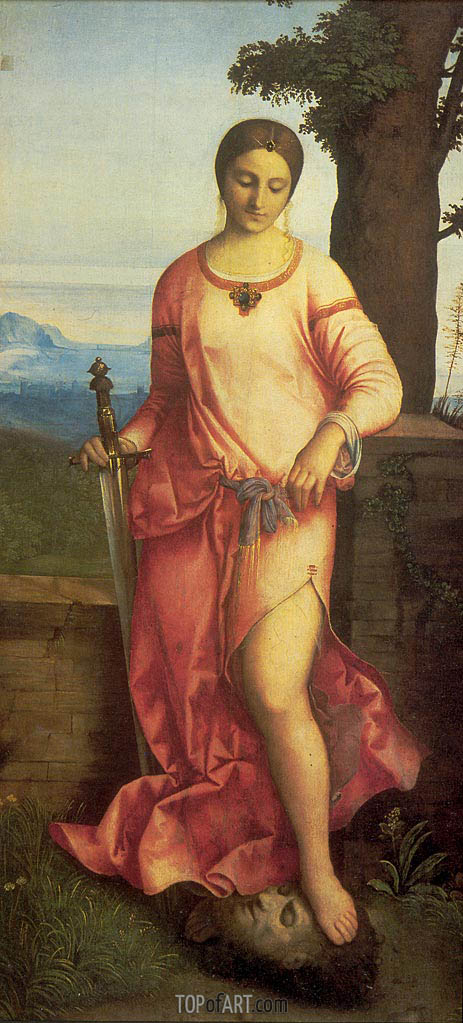 Judith, 1504 | Giorgione | Painting Reproduction