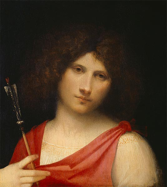 Boy with Arrow, c.1505 | Giorgione | Painting Reproduction
