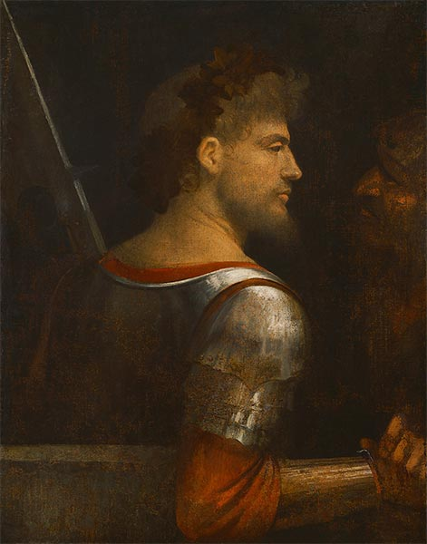 Portrait of a Warrior, c.1505/10 | Giorgione | Painting Reproduction
