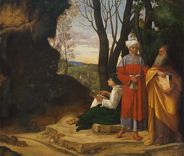 The Three Philosophers, c.1508/09 | Giorgione | Painting Reproduction